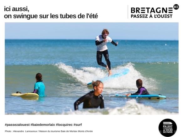 #passezalouest, baie de morlaix, Locquirec